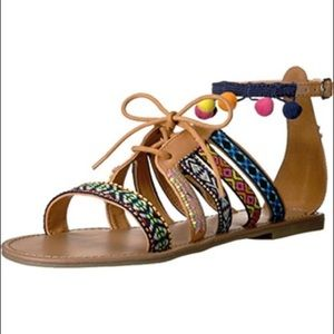 Indigo Rd. Baria Tassel Flat Sandal